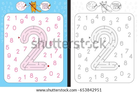 worksheet for learning numbers