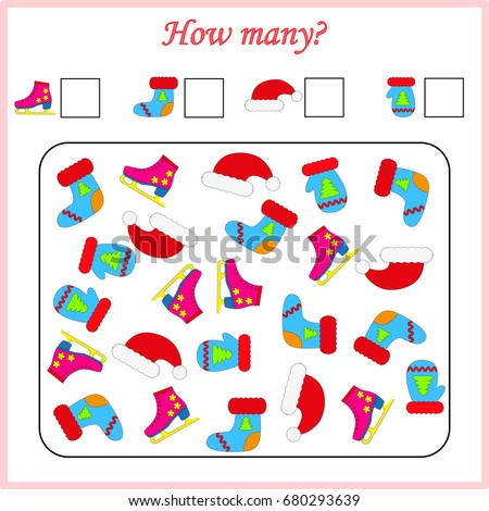 worksheet . Mathematics task. How many objects. Learning mathematics, numbers. Tasks for addition (counting) for preschool kids, children. worksheet for preschool kids
