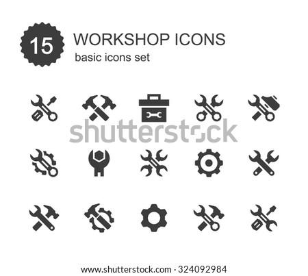Workshop icons.