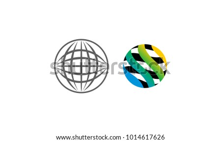 World Abstract Template Set