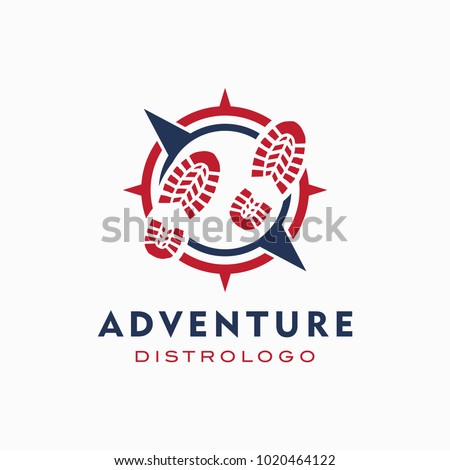world adventure and expedition logo template