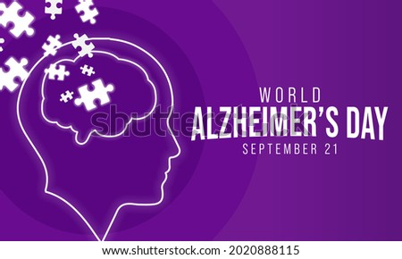 World Alzheimer's day is observed every year on September 21,  it is a progressive disease, where dementia symptoms gradually worsen over a number of years. In its early stages, memory loss is mild.