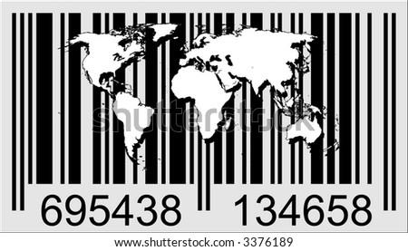 barcode vector. arcode vector art. stock