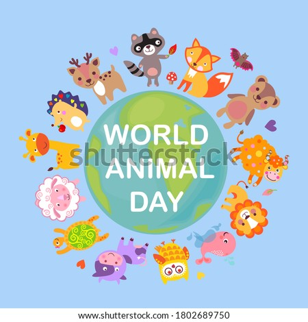 world animal day on october 4