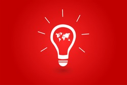 World Best Idea Concept