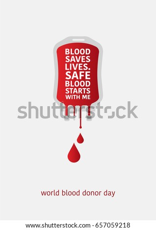 world blood donor day blood