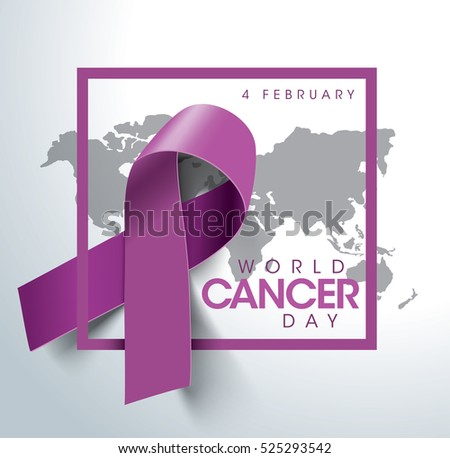 world cancer day concept