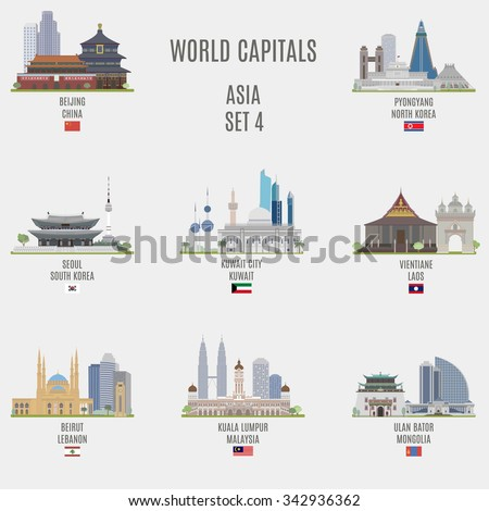 world capitals famous places