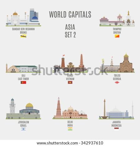 world capitals famous places
