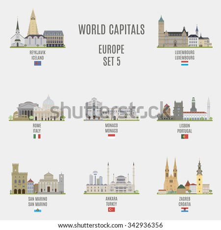 world capitalsfamous places of