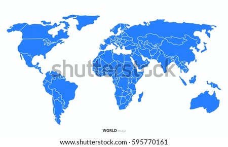 World countries map vector download free vector art stock world country map vector gumiabroncs Image collections
