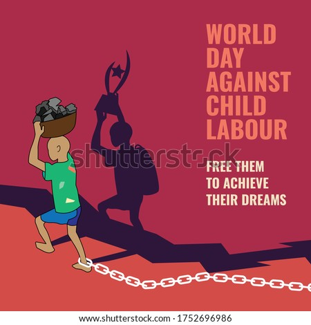 World day against child labour, free them to achive their dream, stop child labour in India and world,