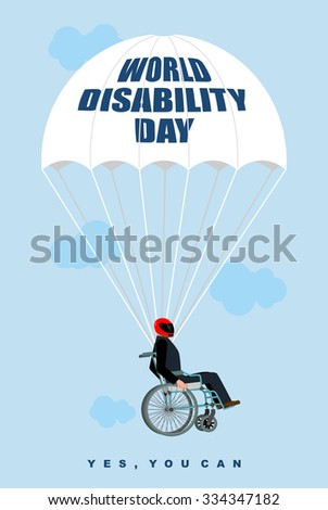 world disabilities day man in