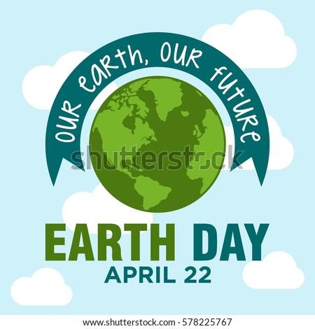 world earth day illustration vector templates