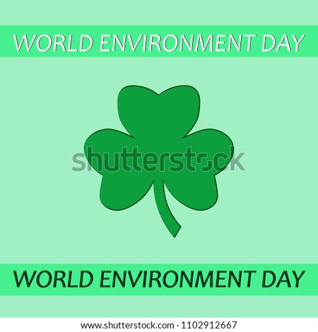 world environment day green
