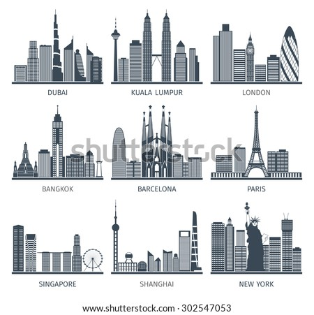 world famous capitals cities