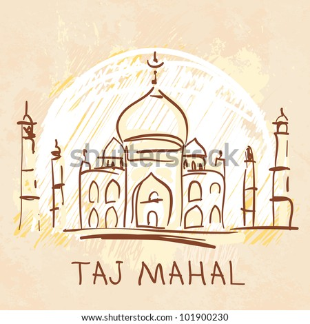 World famous landmark series: Taj Mahal, Agra, India