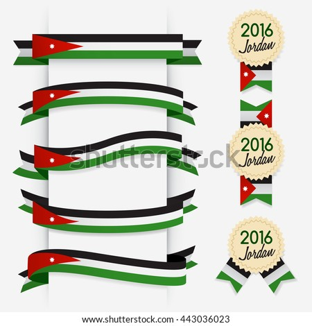 world flag ribbon   vector