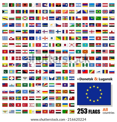 world flags collection   all