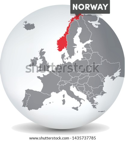 world globe map with the
