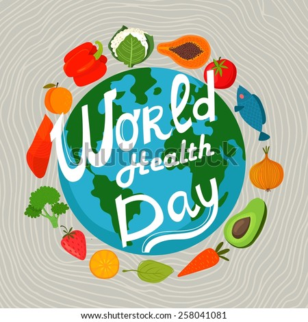 world health day concept with