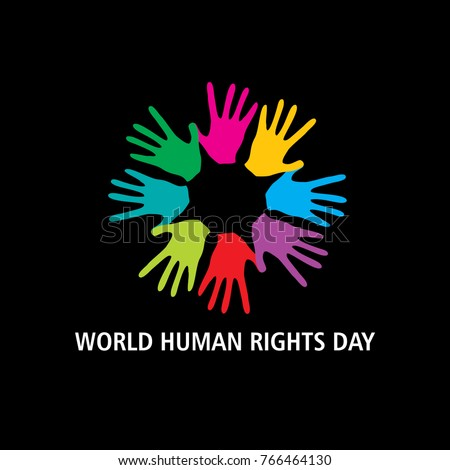 World human rights day  concept