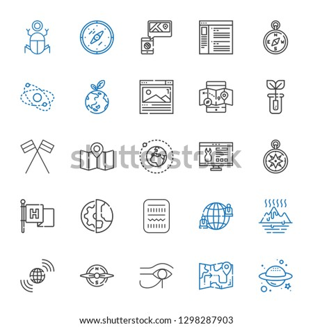 world icons set. Collection of world with planet, map, egypt, compass, earth grid, global warming, network, planet earth, flag, wind rose, website. Editable and scalable world icons. #1298287903