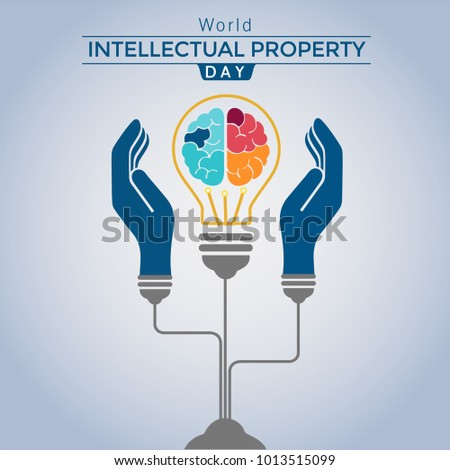 World Intellectual property day Vector, Patent Rights Illustration