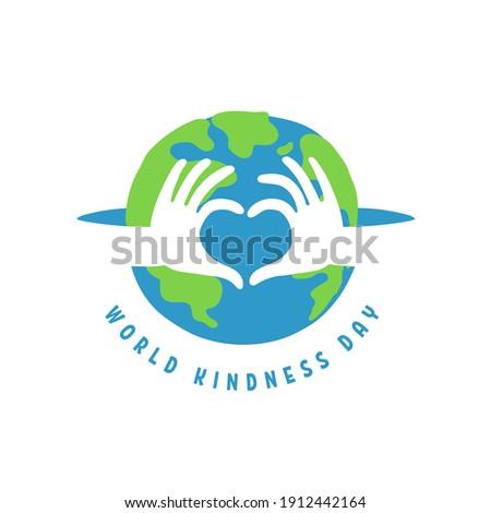 world kindness day logo random