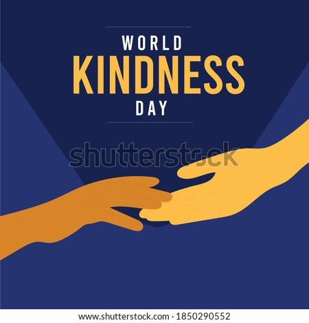 world kindness day with two