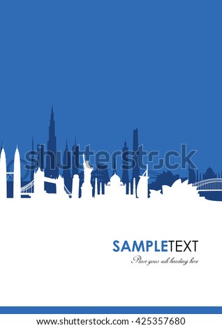 world landmark cityscape