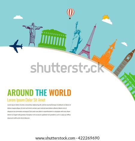 world landmarks travel and