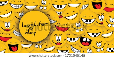 world laughter day  smiling
