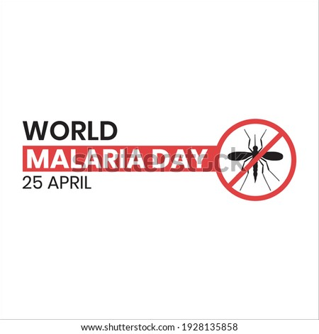 world malaria day logo or