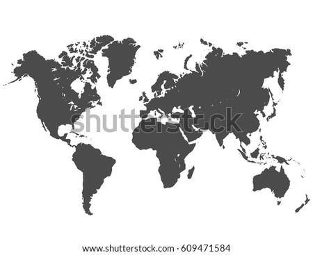 World map #609471584