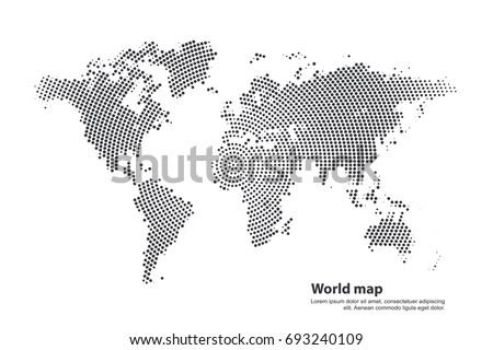 Worldmap continents free vector download free vector art stock worldmap silhouette free vector gumiabroncs Choice Image