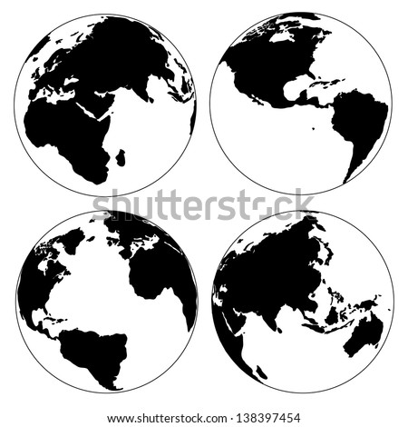 Royalty free globe vector line sketched up 140921224 stock photo world map and globe detail vector illustration eps 10 138397454 gumiabroncs Image collections