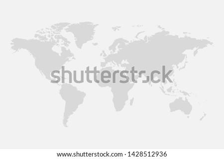 world map background simple design
