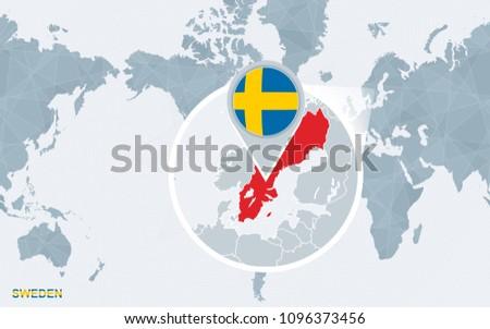 Free Sweden Map Vector - Download Free Vector Art, Stock Graphics ...