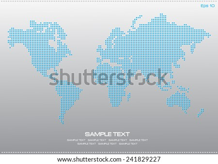 G20 countries world map vector download free vector art stock world map dotted illustration for internet content poster easy to modify gumiabroncs Choice Image