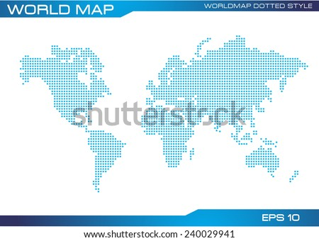 G20 countries world map vector download free vector art stock world map dotted illustration for wallpaper poster and brochure easy to modify gumiabroncs Choice Image