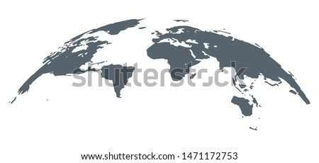 World map earth infographic design. Country europe template, globe background continent for travel.