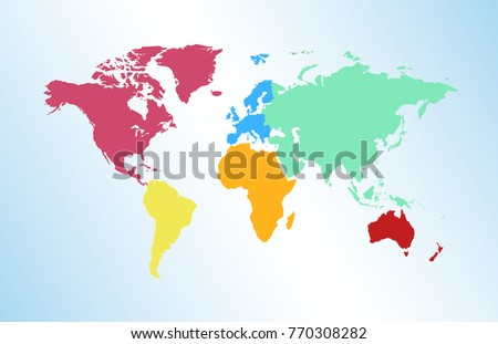 Globe continente vectores descargue grficos y vectores gratis world map europe asia america africa australia gumiabroncs Images