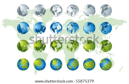 world map globe vector. World+map+globe+vector