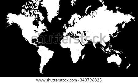 White world map vector download free vector art stock graphics world map in black background gumiabroncs Gallery