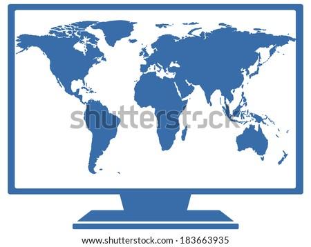 NASA TV logo vector