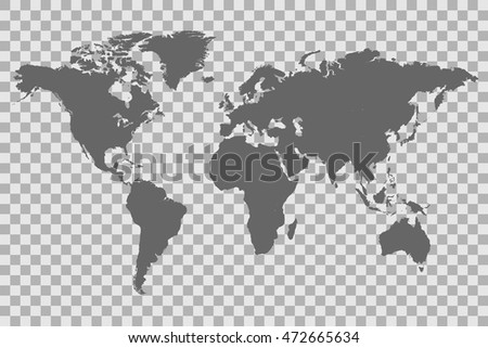 World map with latitude and longitude download free vector art world map on a checkered background gumiabroncs Images