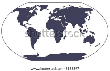 Royalty free stock photos and images world map silhouette is hand world map silhouette is hand drawn artwork in ai eps8 format gumiabroncs Images