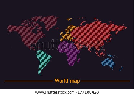 Coreldraw free vector art 19 free downloads stock vector world map vector 177180428 gumiabroncs Choice Image