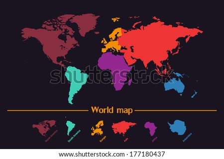 Coreldraw free vector art 19 free downloads stock vector world map vector 177180437 gumiabroncs Choice Image